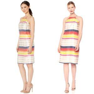 NWT Trina Turk Vanah Striped Halter Dress
